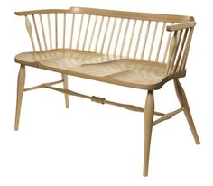 Oak Double-Windsor Chair via AYLA. Click on the image to see more!
