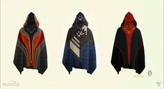 Cape Designs, Destiny concept art by Bungie.