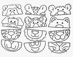 Z internetu – Sisa Stipa – Webová alba Picasa Preschool Worksheets, Preschool Activities, Learning Centers, Kids Learning, Cutting Activities, Le Zoo, Folder Games, Activity Sheets, Working With Children