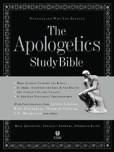 The HCSB Apologetics Study Bible is packed with great articles and helpful study notes