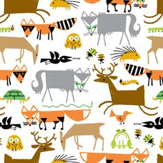 Ahh! Ed Emberly, I learned how to draw geometric animals with you as a tot, and now I can get the fabric!!