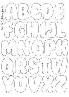 Molde do Alfabeto