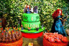 Decoração de aniversário tema Valente - Princesa Merida - Toda Atual
