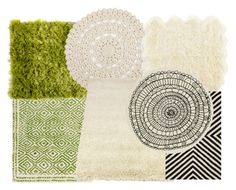 """""""Natural Rugs"""" by cofiant ❤ liked on Polyvore featuring interior, interiors, interior design, home, home decor, interior decorating, Dot & Bo, Savanna and CB2"""