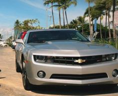 Camero owned by Detective Danny Williams