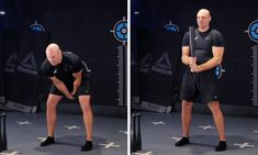 The steel club clean is a dynamic exercise that moves the club from the swing into the order position. Pilates, Reebok, Sporty, Positivity, Training, Australia, Exercise, Cleaning, Club