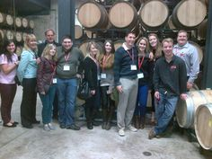 Brock Alumni on a wine tour, hosted by the Niagara Network, during Homecoming 2013.