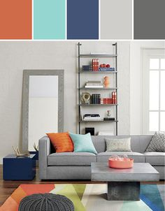 Color Crush Combo | Gray + Coral