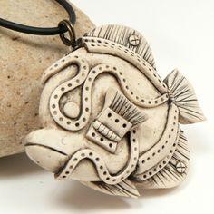 white angelfish by Lynn Reno