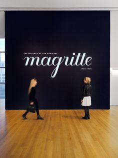 Magritte - The Department of Advertising and Graphic Design
