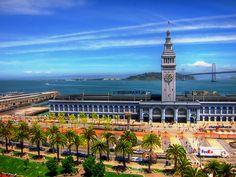 San Francisco's Ferry Building http://www.vacationrentalpeople.com/vacation-rentals.aspx/World/USA/California/San-Francisco-Bay-Area/San-Francisco
