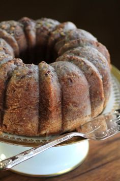 """I have been making this Rum Pecan Bundt Cake for """"upteem"""" years! I have also substituted the rum with Bailey's. Cupcake Recipes, Cupcake Cakes, Dessert Recipes, Cupcakes, Recipes Dinner, Dessert Ideas, Pasta Recipes, Crockpot Recipes, Soup Recipes"""