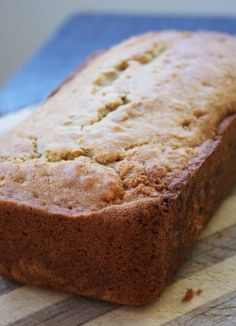 Spiced Pear Loaves, great use for over-ripe pears! More