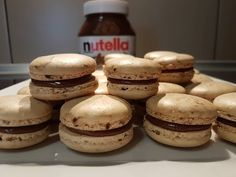 Nutella, No Cook Desserts, Macarons, Muffin, Cookies, Breakfast, Sweet, Youtube, Videos