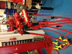 Spring time makes the trees grow, flowers blossom, and nice bundles of #RedRooster air chain hoists!