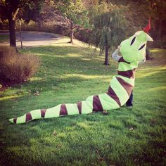 Happy Halloween! Love, Dominic Best Snake Costume EVER!