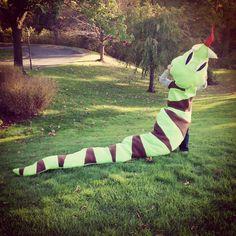 Happy Halloween! Love, Dominic Best Snake Costume EVER!