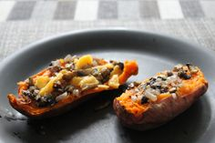 This is our microwave sweet potato recipe with a delicious fried topping. It takes 10 mins to cook and tastes so good it'll disappear even quicker. Unique Recipes, Ethnic Recipes, Microwave Recipes, Master Chef, Food Website, Sweet Potato Recipes, Diabetic Recipes, Cheesesteak, Potatoes