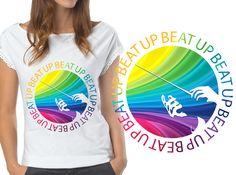 Up Beat T-Shirt Design by Little_sunrain