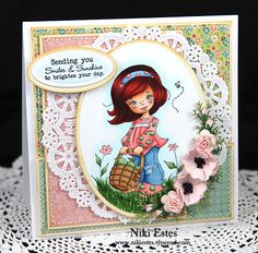 My Paper Creations: Elisabeth Bell Debut Release at Whimsy Stamps Day 2