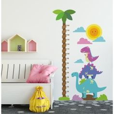 Petite Section, Kids Room Wall Stickers, Wall Decals, Dinosaur Nursery, Welcome Baby, Creative Kids, Baby Room, Nursery Decor, Playroom