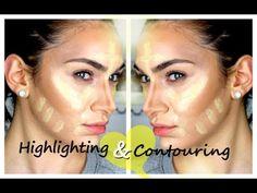 ▶ My Contouring & Highlighting Routine (Like Kim Kardashian's) - YouTube