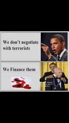 Nosotros no negociamos con terroristas, los financiamos