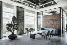 Ajinomoto Offices - Istanbul - commercial and office architecture Office Tour: Ajinomoto Offices – Istanbul Home Design, Interior Design Trends, Office Interior Design, Office Interiors, Office Designs, Office Space Design, Office Lounge, Open Office, Office Walls