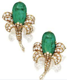 Flower earrings by Van Cleef & Arpels