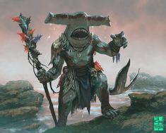Art for Mage Wars © Arcane Wonders. Fantasy Races, Fantasy Warrior, Fantasy Rpg, Fantasy Artwork, Dark Fantasy, Lovely Creatures, Fantasy Creatures, Mythical Creatures, Fantasy Character Design