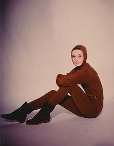 The Fashion of Audrey — The actress Audrey Hepburn photographed by Vincent...