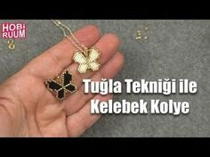 Princess Necklage Tutorial Pendant - Prenses abiye kolye yapımı - YouTube