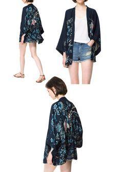kimono jacket on Pinterest | Kimonos, Silk and Velvet