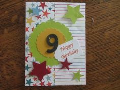 A birthday card made for a 9 year old girl for details go to www birthday card for 9 year old bookmarktalkfo Images