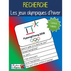 Browse over educational resources created by La classe de Caro in the official Teachers Pay Teachers store. Core French, French Class, French Lessons, Kids Olympics, Winter Olympics, Olympic Idea, Olympic Games, French Teacher, Teaching French