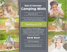 End of Summer Camping Minis ~ MAC Photography Greensboro Triad Child and Family Photographer « MAC Photography