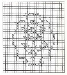 Crochet Pouch, Fillet Crochet, C2c Crochet, Crochet Doilies, Crochet Flowers, Crochet Stitches, Crochet Patterns, Cross Stitch Bookmarks, Mini Cross Stitch