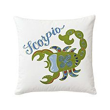 Zodiac Pillows for your Baby Nursery and Kids Rooms | Serena & Lily
