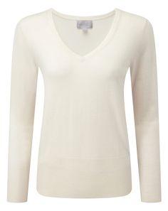 Superfine V Neck Sweater