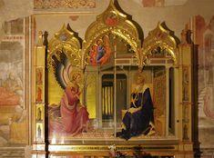 Lorenzo Monaco - Annunciazione Salimbeni (Pala d'altare) - c.1425 -Cappella Bartolini Salimbeni - Firenze, Basilica della S. Trinità