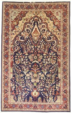 Sarug Handgeknüpft  Perser Teppich Rugs  244 x 152  cm tapis orient