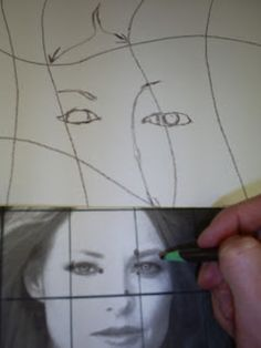 Daily High School Art: Modern Art/Distorted Grid Lesson