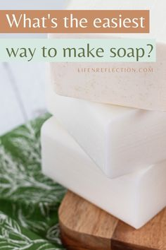 What's the easiest way to make soap? easy soap recipes l easy soap making l DIY soap