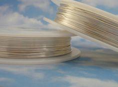 Non Tarnish Silver Plate Artistic Wire - 1/4 lb - Permanently Colored - You Pick Gauge 18, 20, 22, 24, 26, 28 - 100% Guarantee