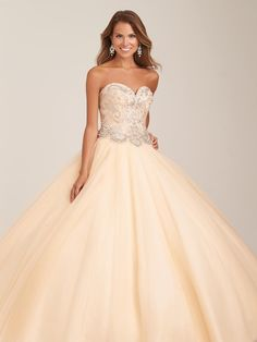 Allure Quinceanera Q502 Dazzling Ball Gown