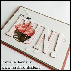 Mrs. BrightSide - Danielle Bennenk - Page 2 of 76 - A blog featuring craft events, paper, yarn, DIY, and Stampin 'Up! ©
