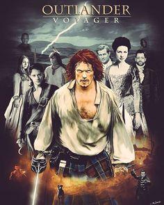 Edición de @TheDutchArt (Twitter) #JamieFraser #ClaireFraser #JamieClaire #Brianna #RogerWakefieldMackenzie #Fergus #Ian #LordJohnGrey #Outlander #OutlanderSeason3