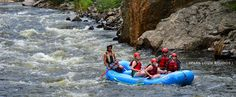 Rafting on the Poudre Fort Collins