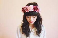 Resultado de imagen para coronas de flores para el cabello
