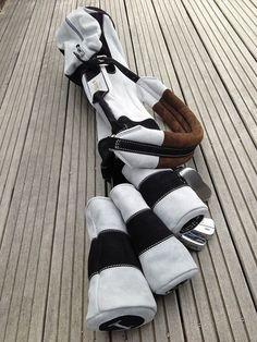 French leather golf bag buy Backskingolf